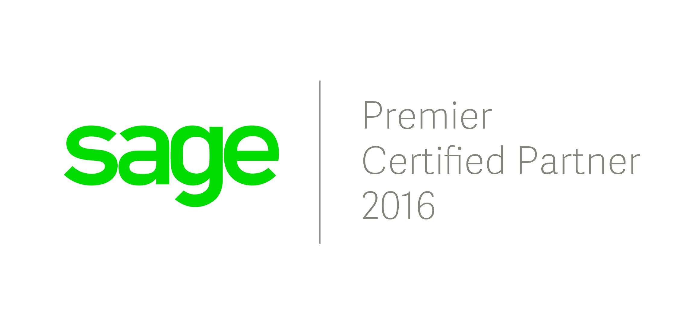 2016 - Sage Premier Partner