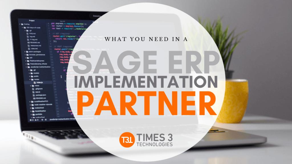 sage erp implementation partner