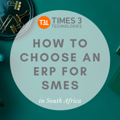 How to choose an ERP for SMEs in South Africa